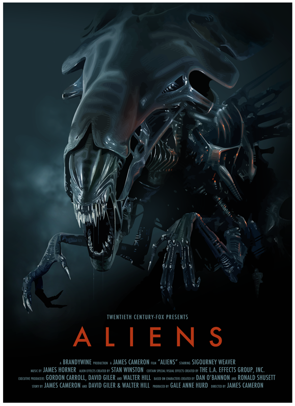 """Aliens"" - The planet from Alien (1979) has been colonized ..."