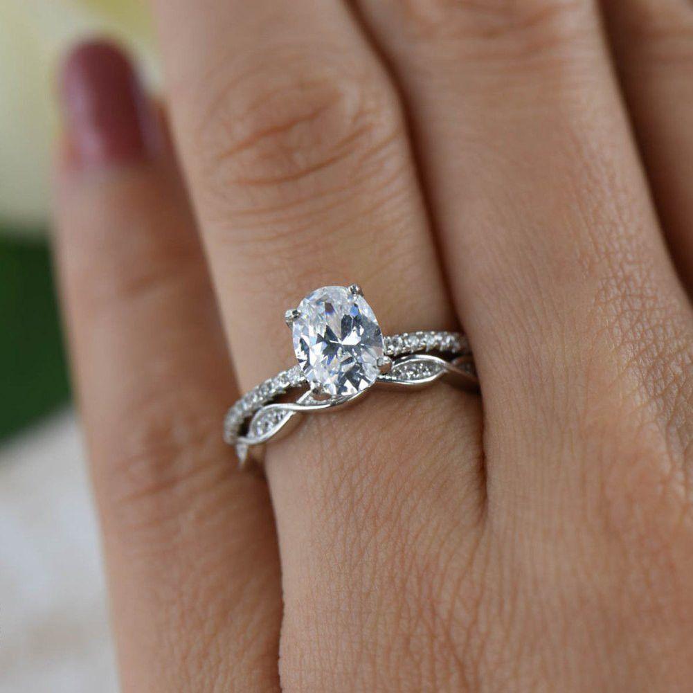 29+ Oval engagement ring wedding set information