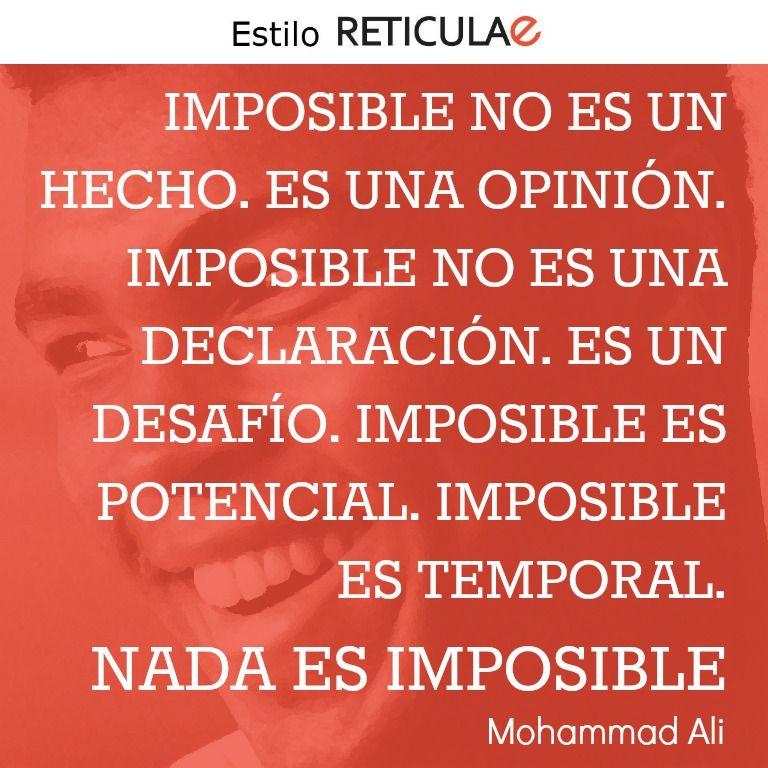 Imposible No Es Un Hecho Es Una Opinión Imposible No Es