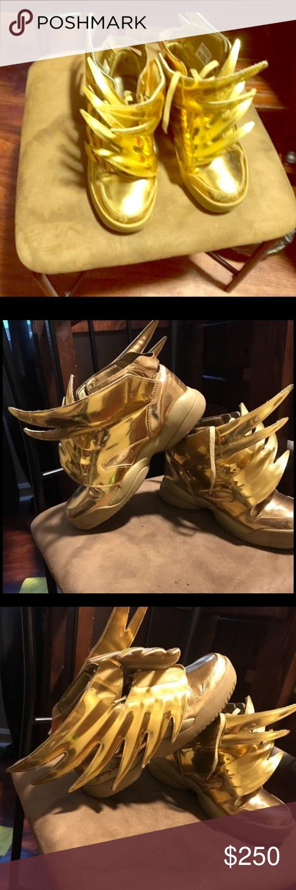 Jeremy Scott's Men's 6.5 are in great wearing Jeremy Scott x Adidas Shoes Sneakers