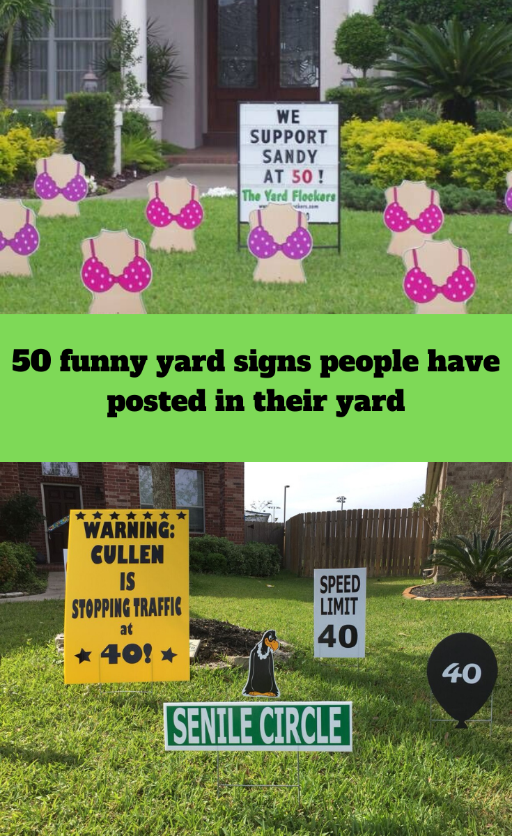 50 Hilarious Yard Signs People Have Posted Making Everyone In The Neighborhood Talk In 2020 Yard Signs Campaign Signs For Sale Sign