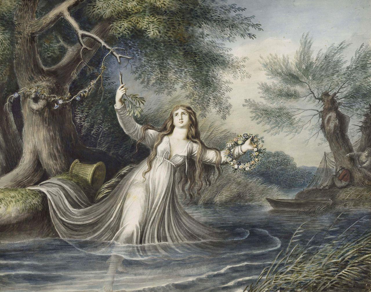 Ophelia Shakespeare: Ophelia, Johann Heinrich Ramberg