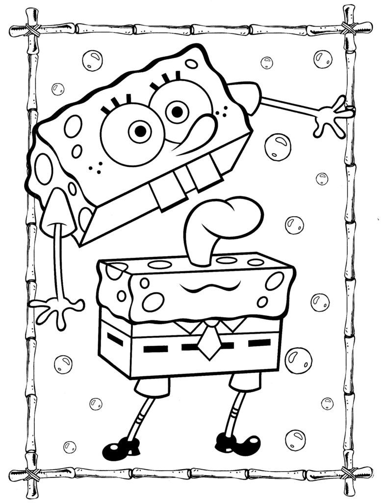 Coloring Rocks Cartoon Coloring Pages Spongebob Coloring Coloring Pages