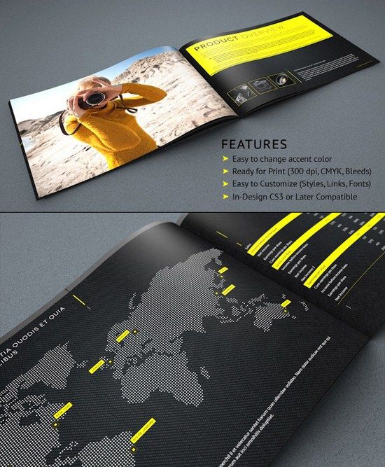 Outstanding And Modern Brochure Design Ideas  Brochures Design