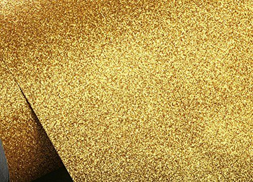 Peel & Stick Glitter Sand Bubble Free Interior Film [Gold : 30cm ...