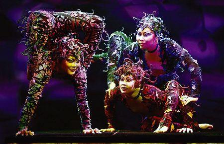 Cirque du Soleil... just incredible