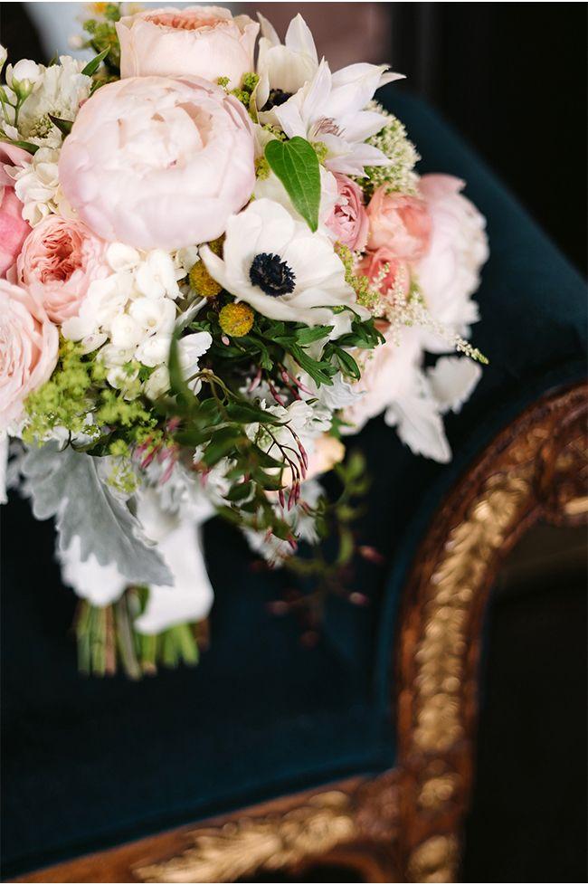 Paris Themed Bridal Bouquet | Two Birds Photography