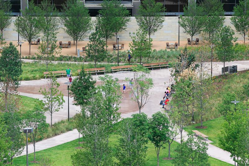 The second of a series of parks to be built throughout Dallas (Main ...