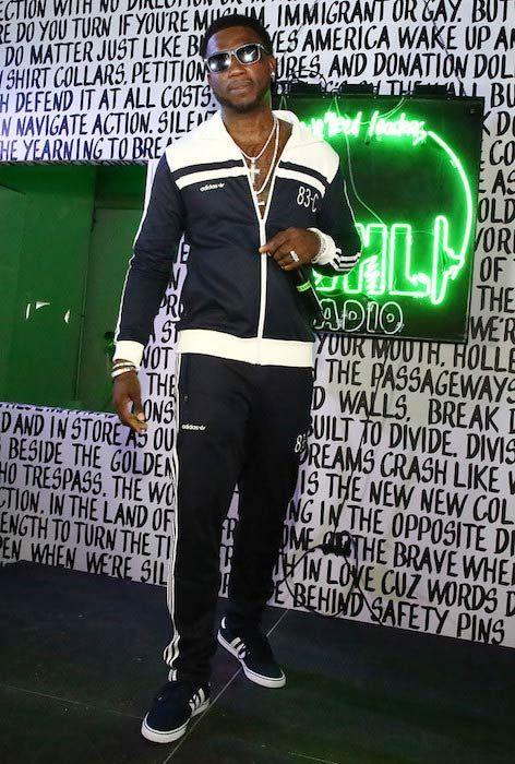 fab2f8745 Rapper Gucci Mane at Public School And The Confidante Present WNL Radio in  December 2016.