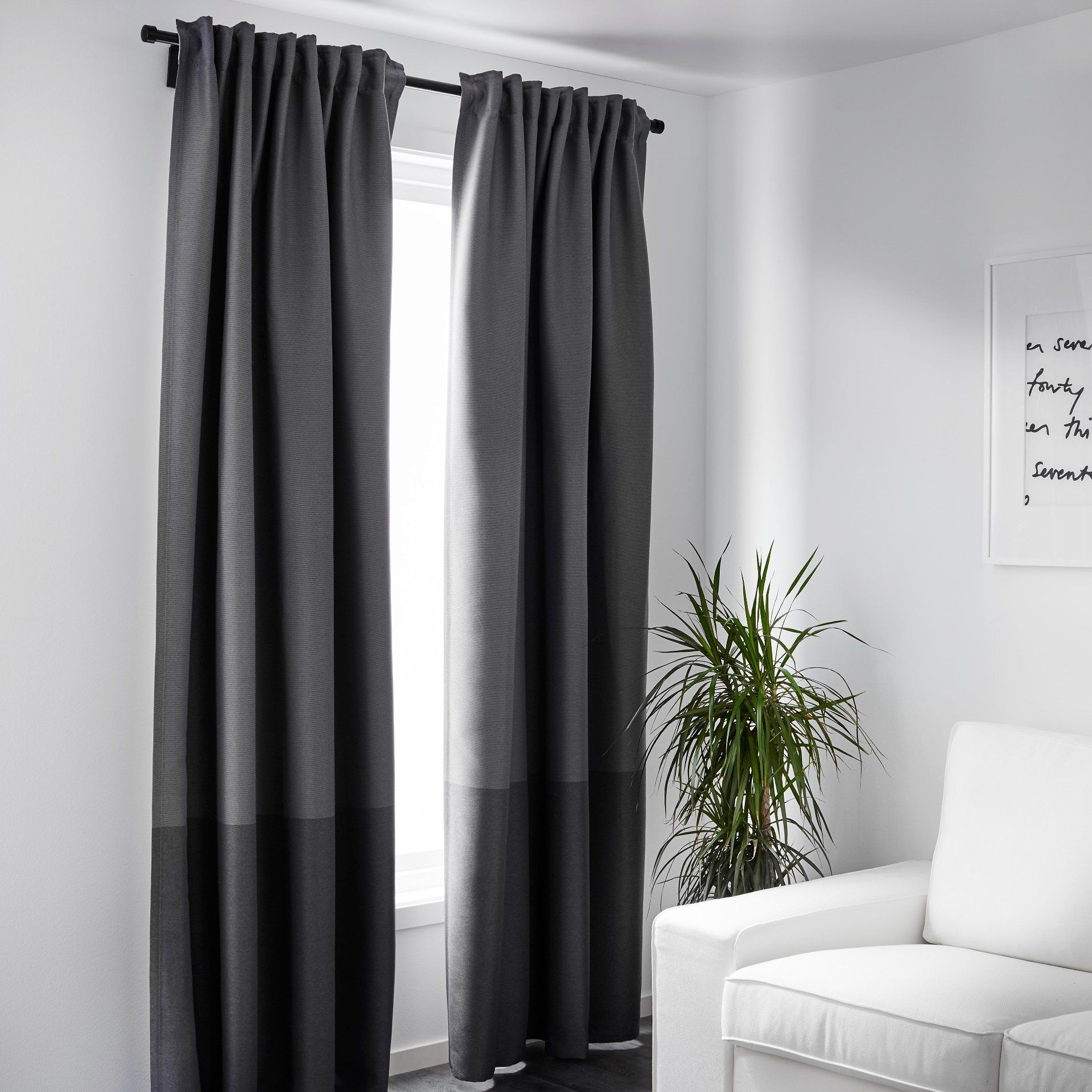 These 50 Ikea Blackout Curtains Gave Me The Best Night S Sleep Ever Brown Curtains Block Out Curtains Ikea Curtains