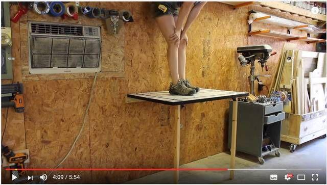 狭いスペースを有効活用 折りたたみ作業台のハウツーを2通り紹介