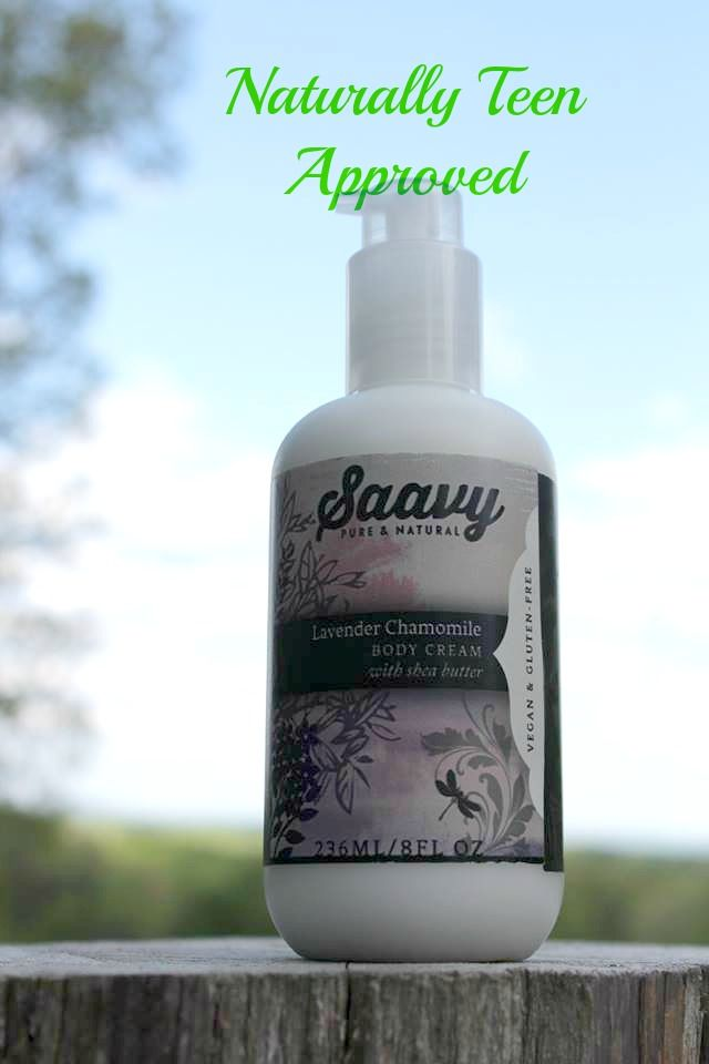Review: Saavy Lavender Chamomile Body Cream