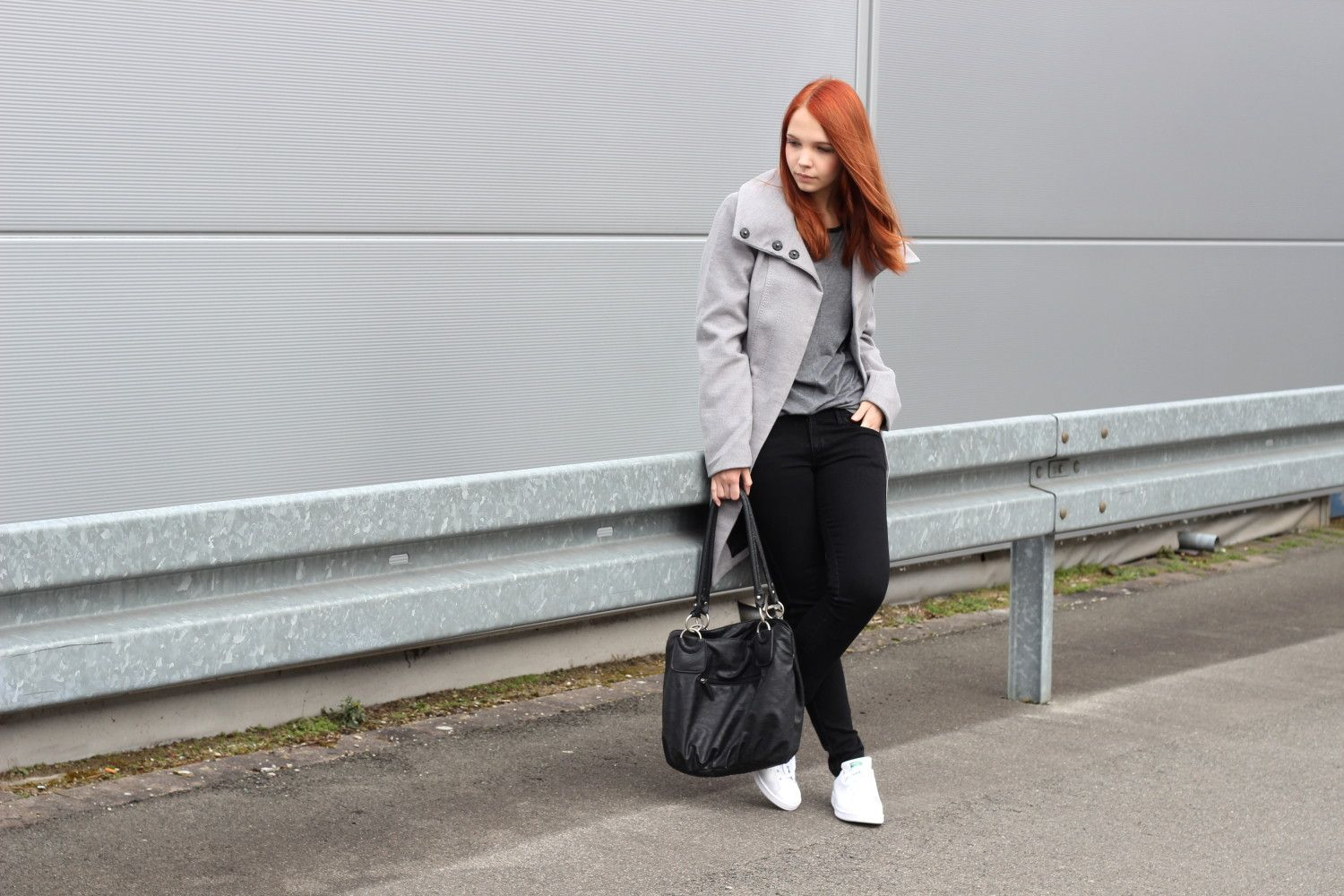 Changes | Outfit, Outfit ideen und Grauer mantel