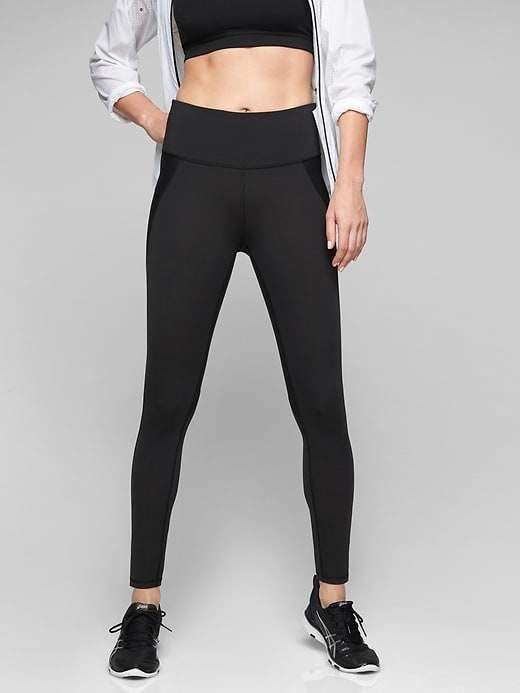 aba947592 Athleta Women s Stealth Tight Black Big And Tall Size S in 2019 ...