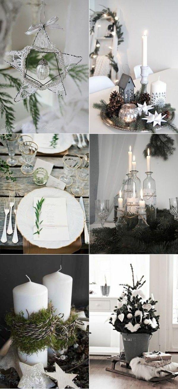 puristische tischdeko im winter 70 stilvolle dekoideen. Black Bedroom Furniture Sets. Home Design Ideas