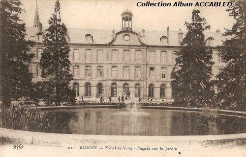 Rouen - H U00f4tel De Ville