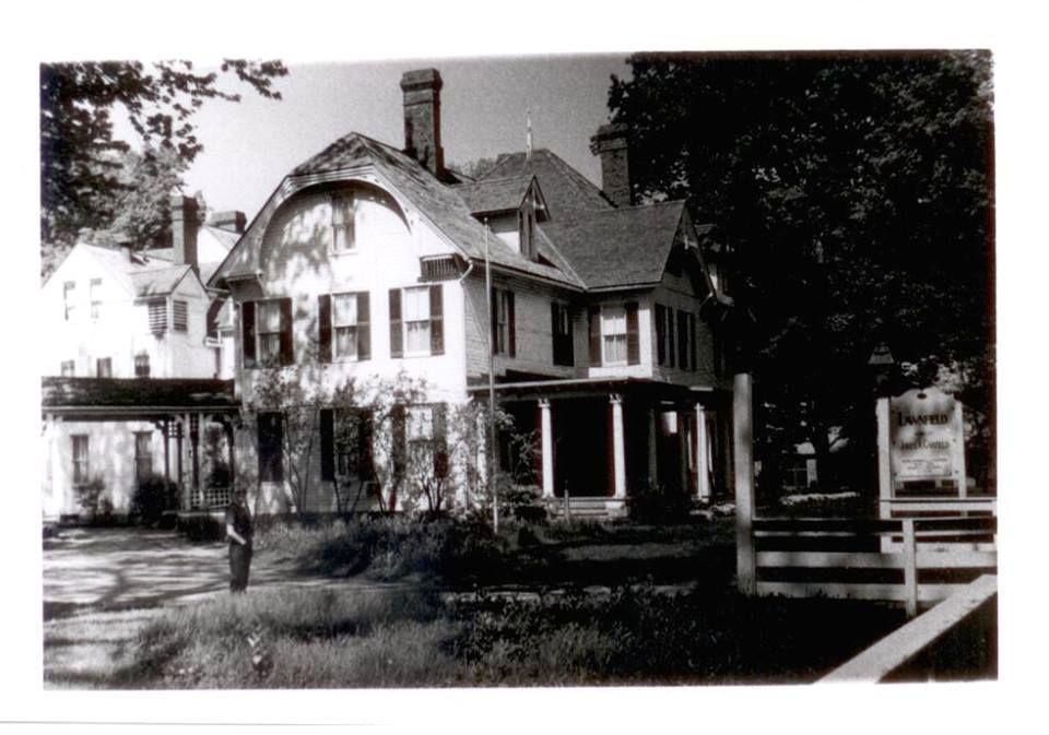 President Garfield home, Mentor Ave Mentor, Ohio. Day