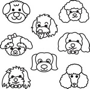 Poodle Face Drawings Bing Images Poodle Drawing Cartoon Dog