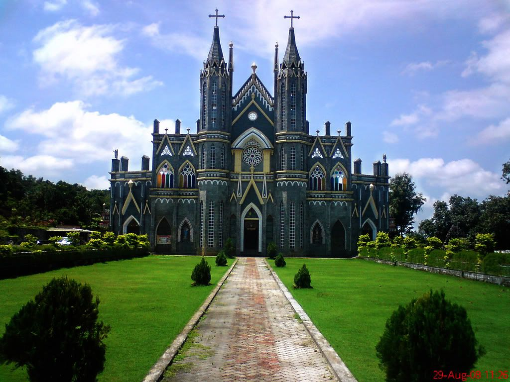 Churches of india page 3 skyscrapercity beautiful for Religious buildings in india