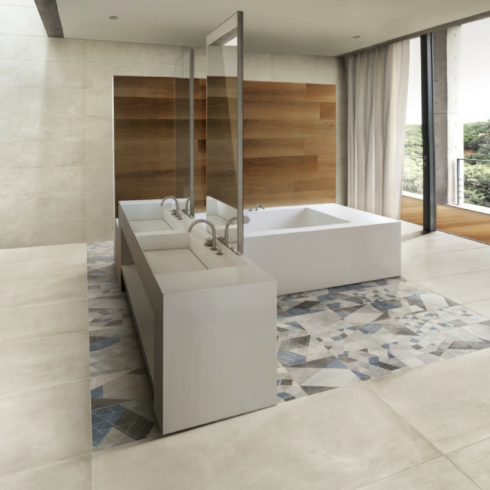60x60 One Gesso Granitna Keramika Matirana Caesar 3 House