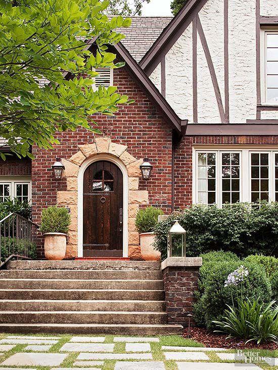 Brick Siding Ideas Tudor Style Homes Exterior Brick House Exterior