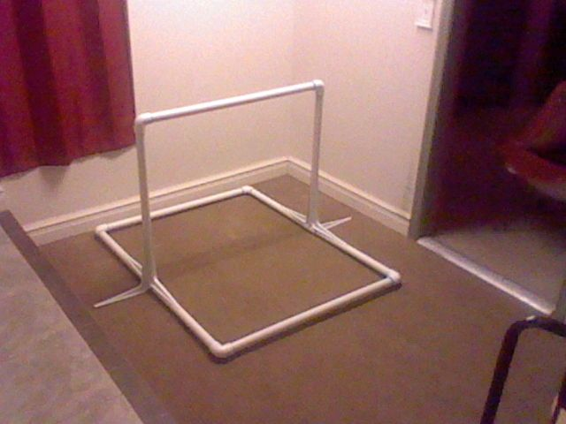 Kids gymnastics horizontal bar - make it for $60 - complete