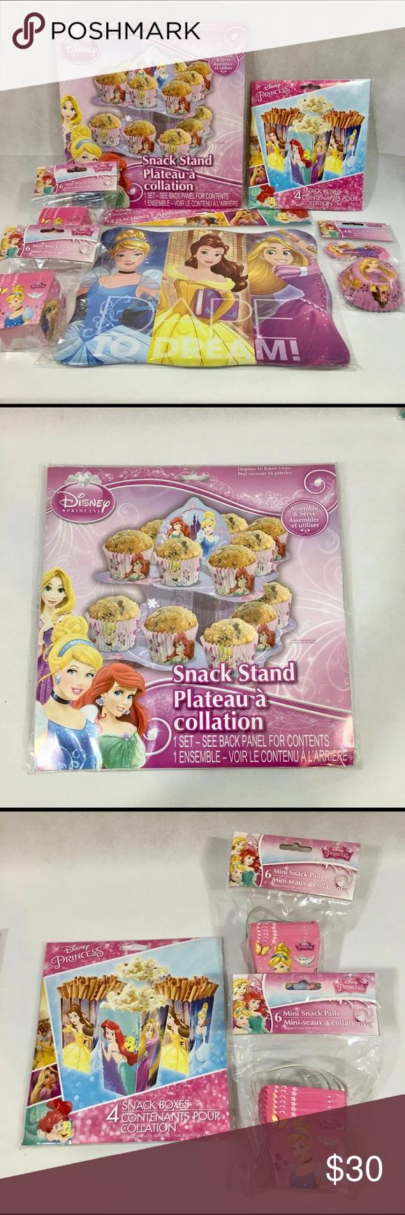 Disney Princess Party Kit Bundle New Disney Princess Party Party Bundles Disney Party Supplies