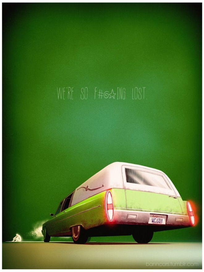 Quand des véhicules incarnent films, séries télé ou jeux vidéo... #02 - Butcher's Blog