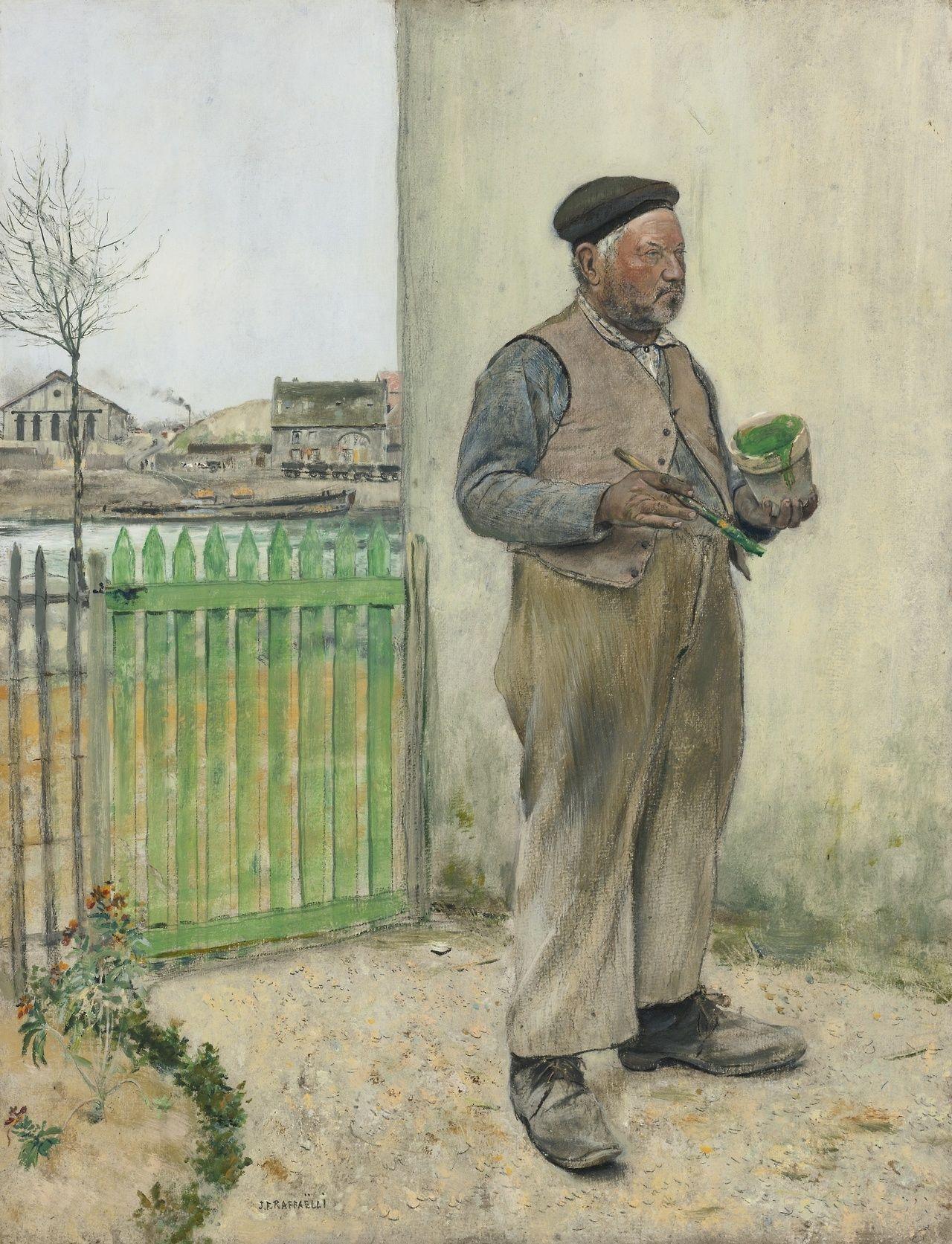 JeanFrançois Raffaëlli (18501924) Man having just