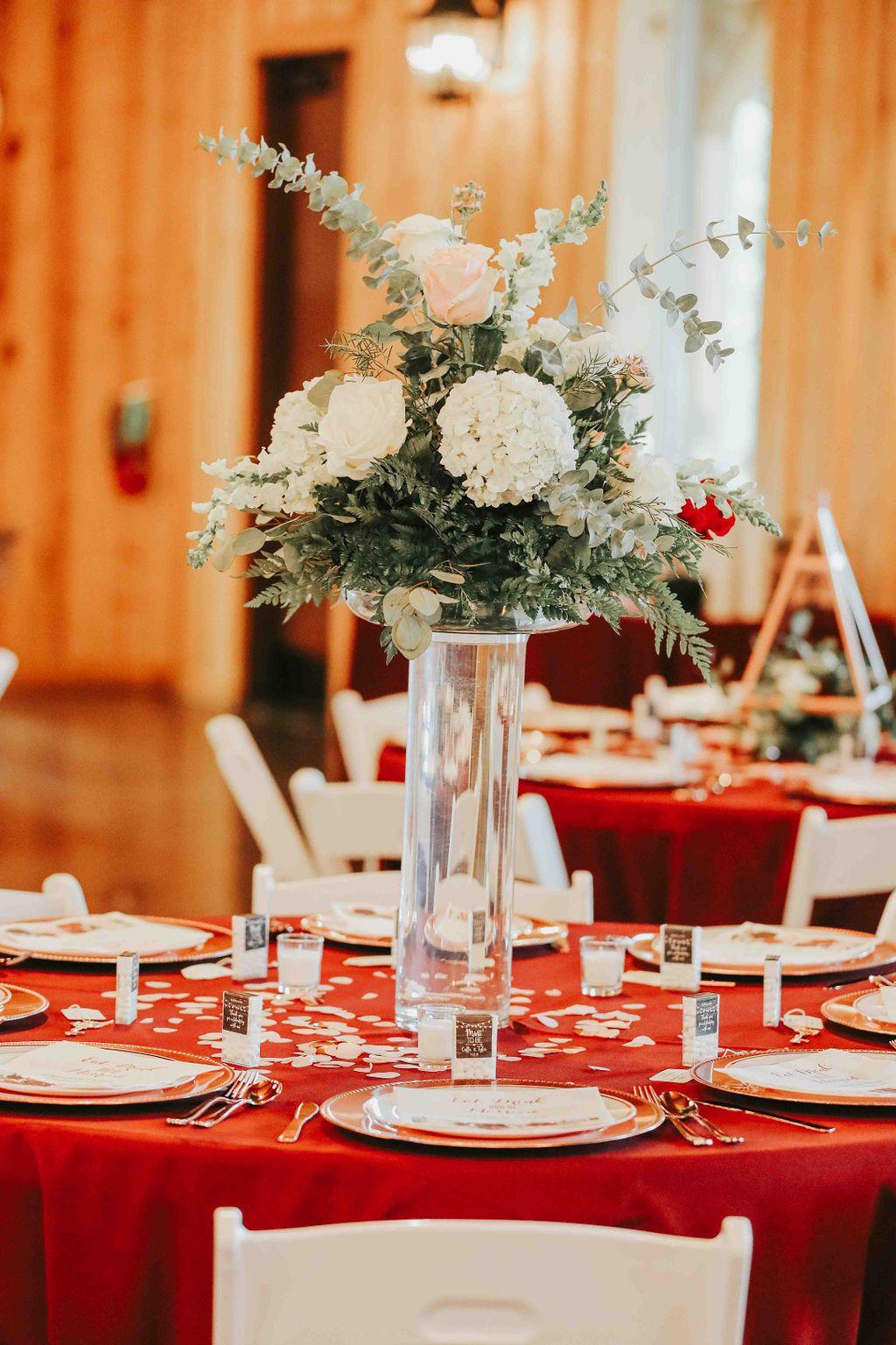 Weatherford Wedding Venue Wedding Reception Decorations Wedding