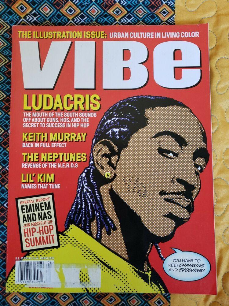VIBE Magazine*Aug 2003*Ludacris*David Cowles*Got Milk Jolie