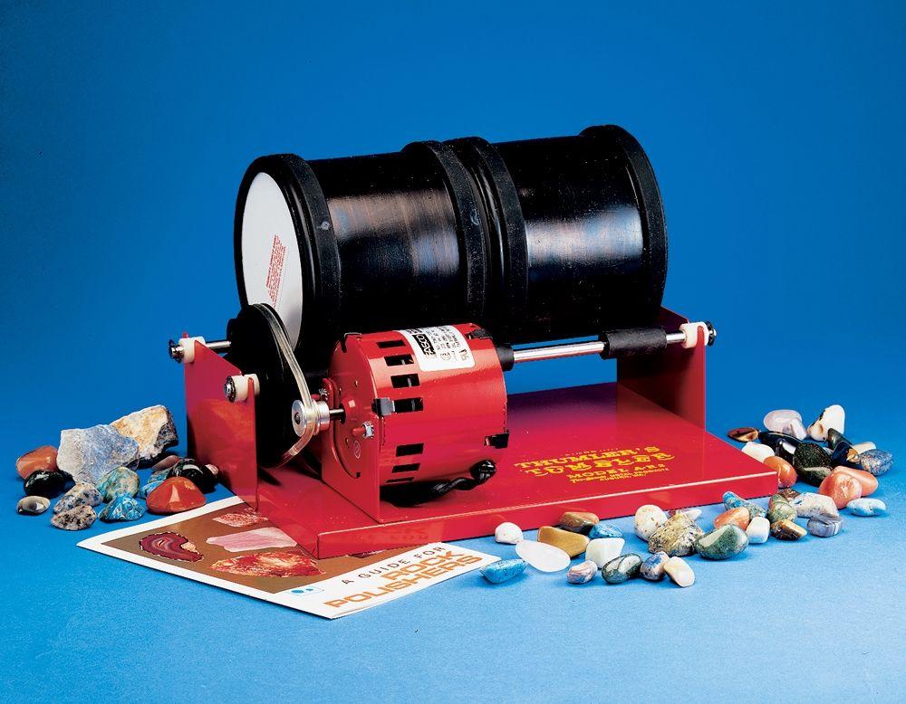 Double Barrel Rock Polishing Tumbler Polishing Kit