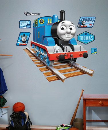 Take A Look At This Fathead Thomas The Tank Engine Wall Decal Set