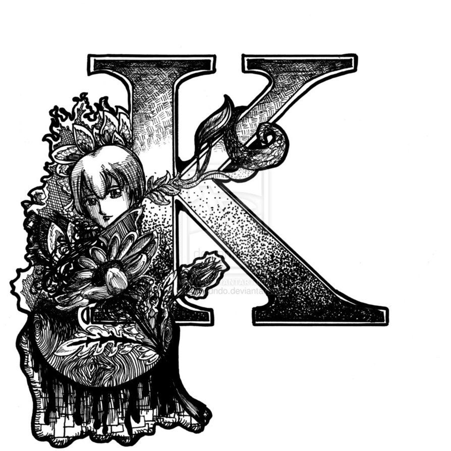 Download free k alphabet wallpapers for your mobile phone by 894 an art noveau inspired print of the letter k more letters to come i also take commissions for multiple letter works just post something thecheapjerseys Choice Image