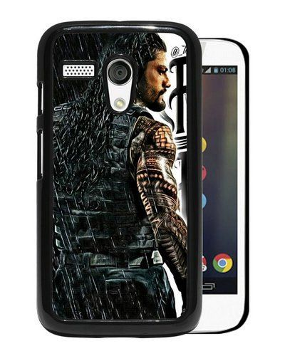Buy Moto G Case,Wwe Superstars Collection Wwe 2K15 Roman Reigns 03 Black Motorola Moto G Screen Phone Case Popular and Custom Design NEW for 2 USD | Reusell