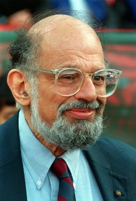 Image result for allen ginsberg 1997