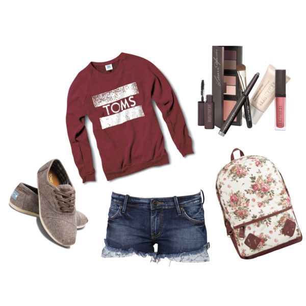 """Toms"" by kenziereese on Polyvore"