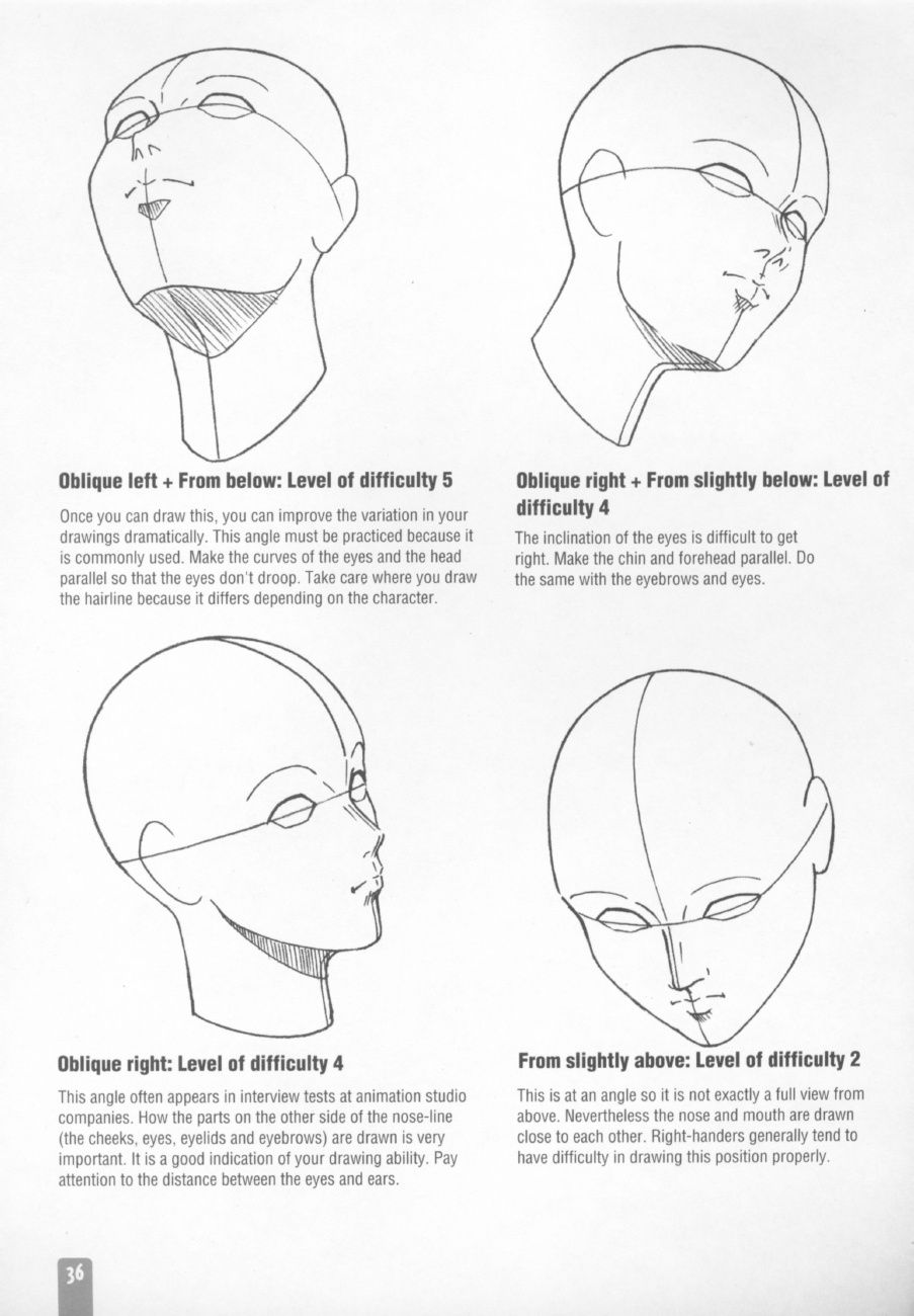 How to Draw Manga Character Drawing Face 7 Draw Faces from