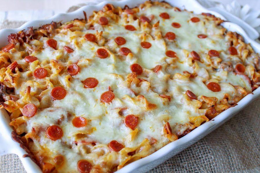 Pizza Casserole Recipe Food Recipes Pizza Casserole Cooking