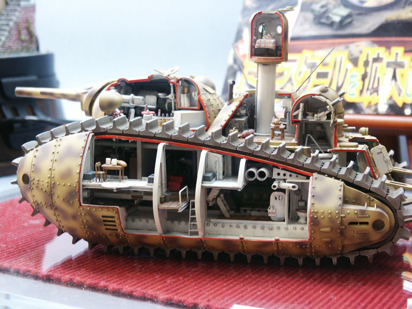 Miyasaki Akuyaku Tank (kit transformation) | Miyazaki Pig Tank ...