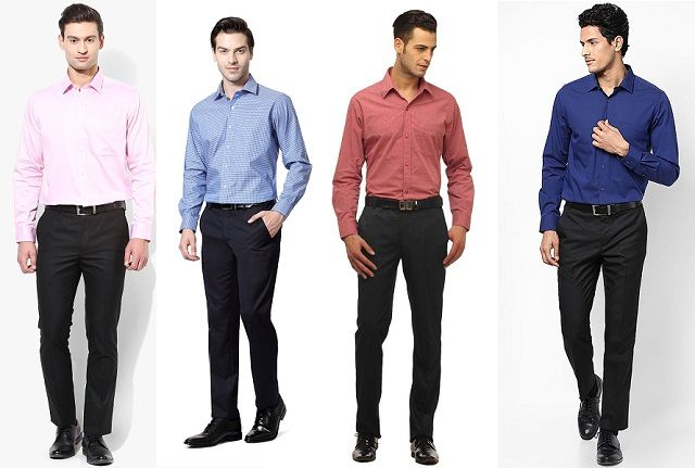 6d320c4ec5f If you are going to wear black pant then you are free to select any colour  of shirt. Most of colours (white
