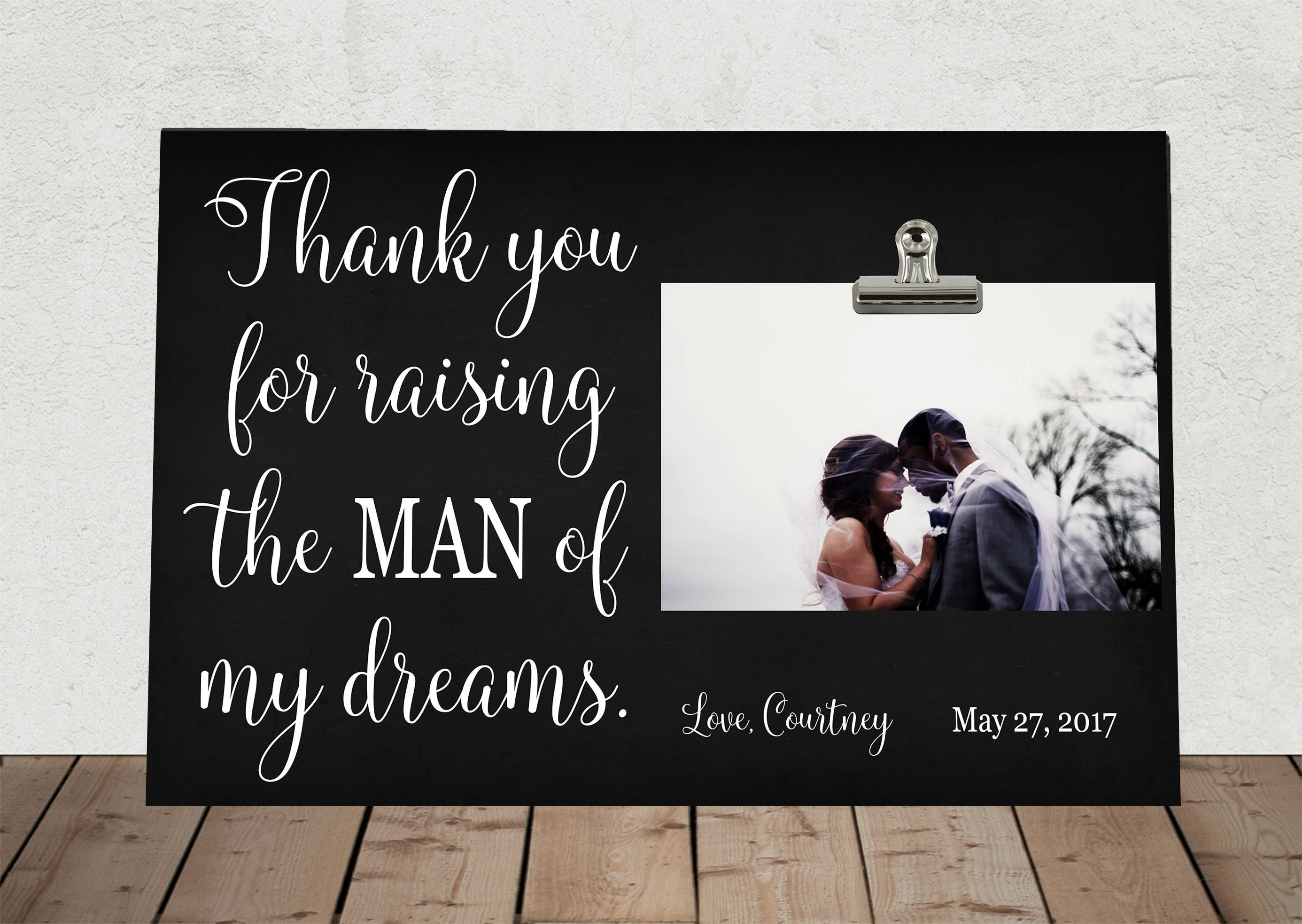 Mother in law gift personalized free wedding gift for
