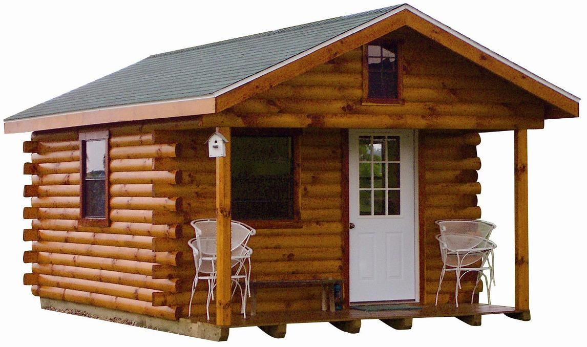 The hunter log cabin for only 5 885 barn stuff for Self sufficient cabin kits