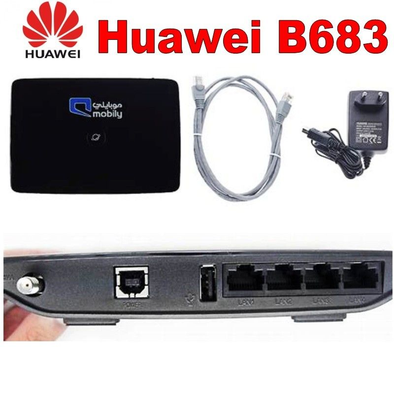 Huawei B683 3g Router Sim Card Slot With 4lan Port In 2020 Huawei Router Card Slots