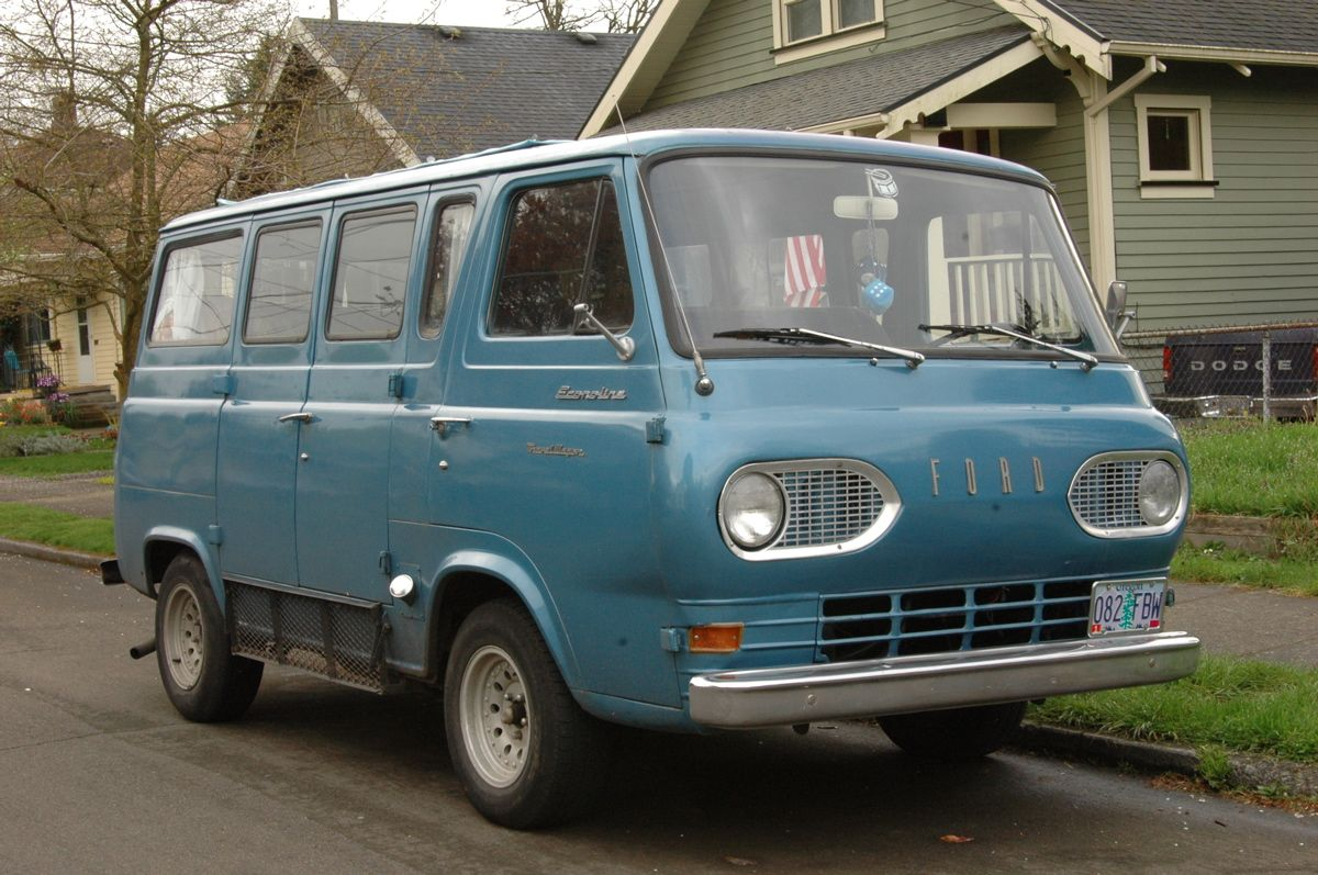 1962 Ford Econoline Travel Wagon Mit Bildern
