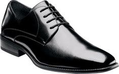 Stacy Adams Wayde 20144 - Black Leather with FREE Shipping & Exchanges. This plain toe oxford features a leather upper, leather quarter linings, a