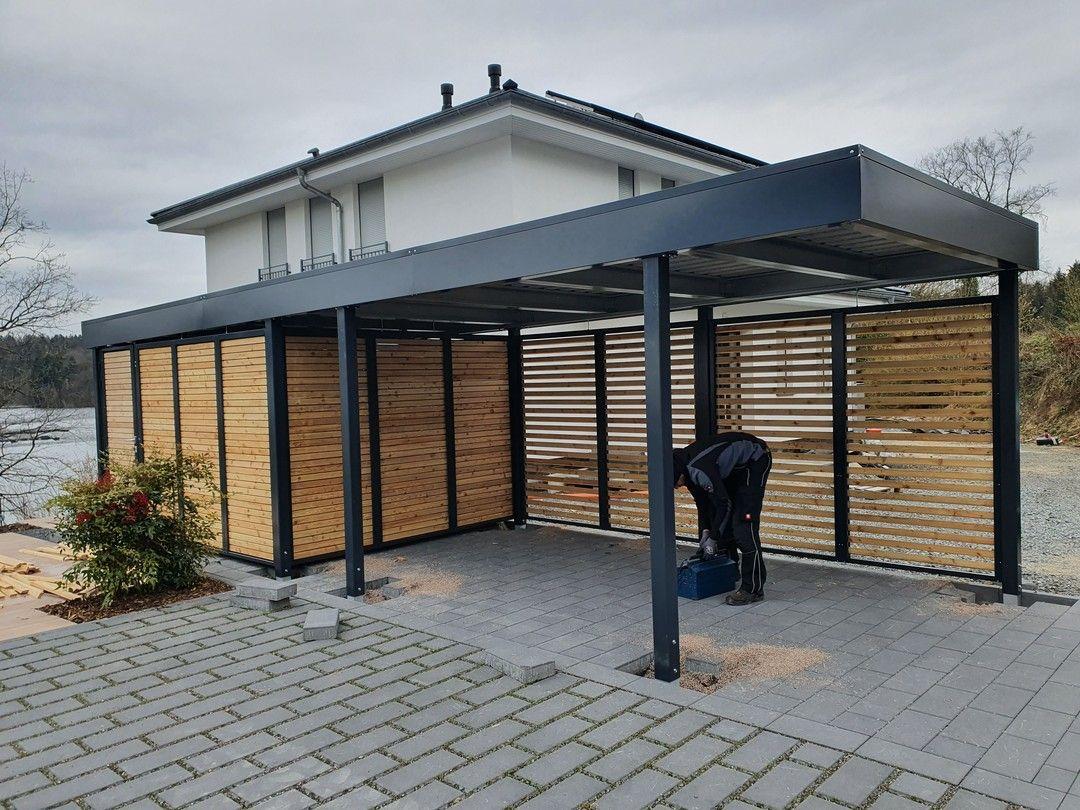 Pin op Carport, Einhausungen, Eingangsüberdachung