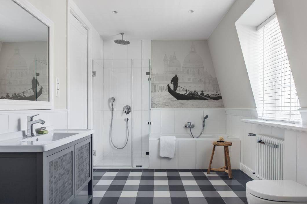 Gondola Rides \u2022 Bathroom - Scandinavian - Wall Murals - Stickers