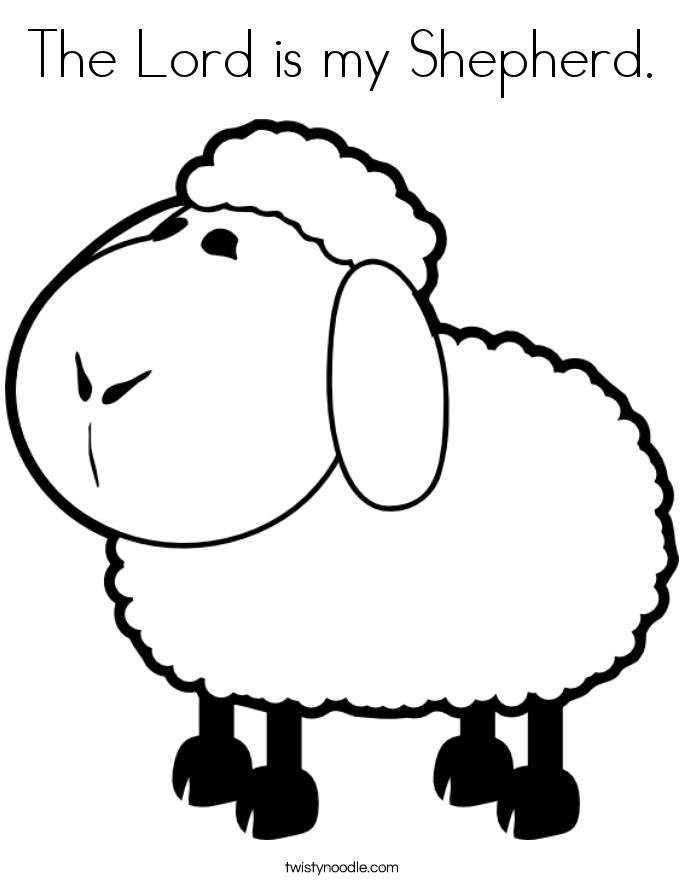 Lord Lamb Letter L Coloring Page Coloring Pages Sheep Drawing