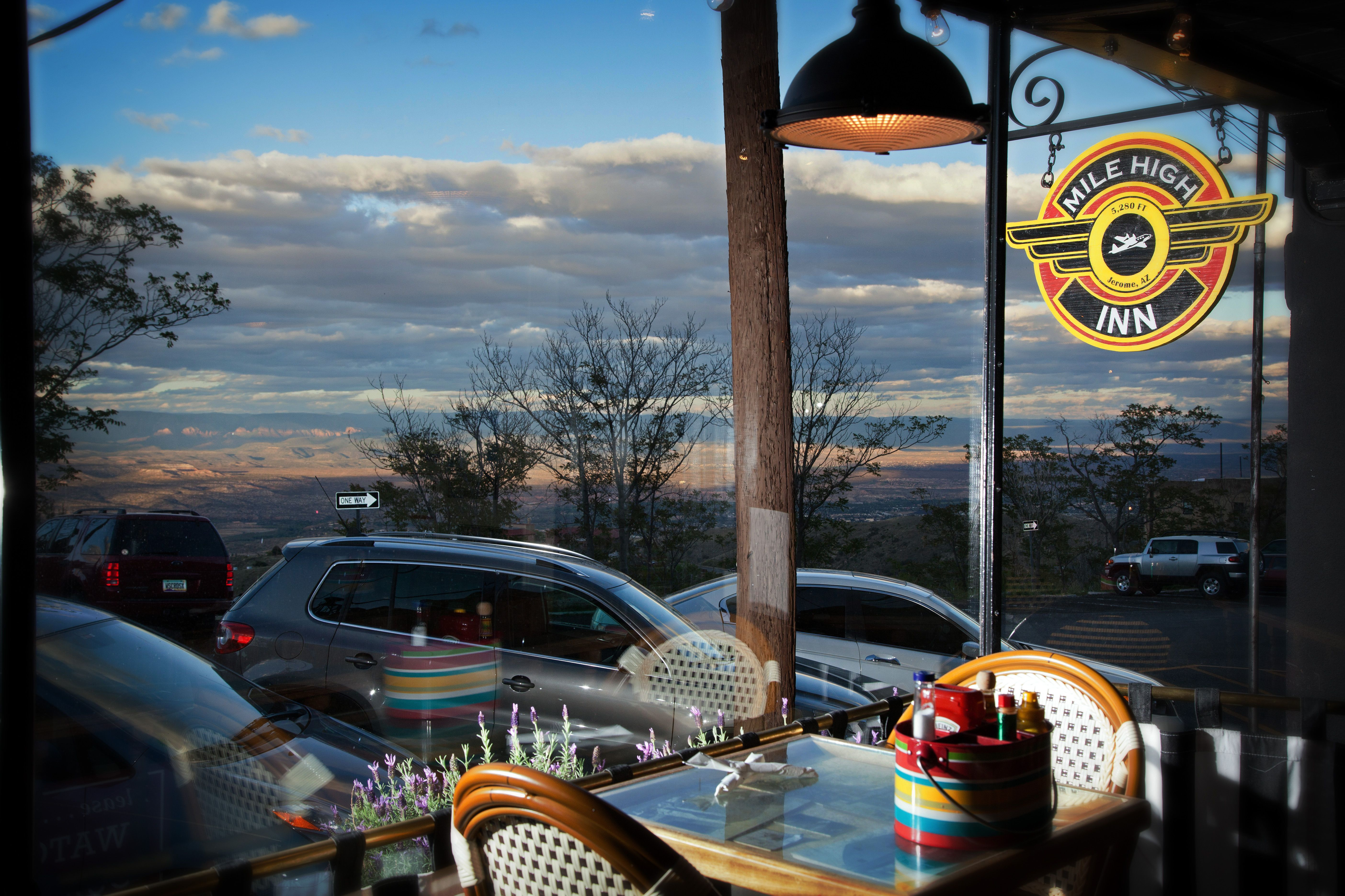 The 50 Mile View from your seat at the Mile High Grill and